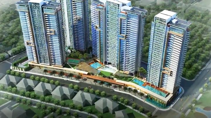 Dự án One Verandah nổi bật với không gian xanh