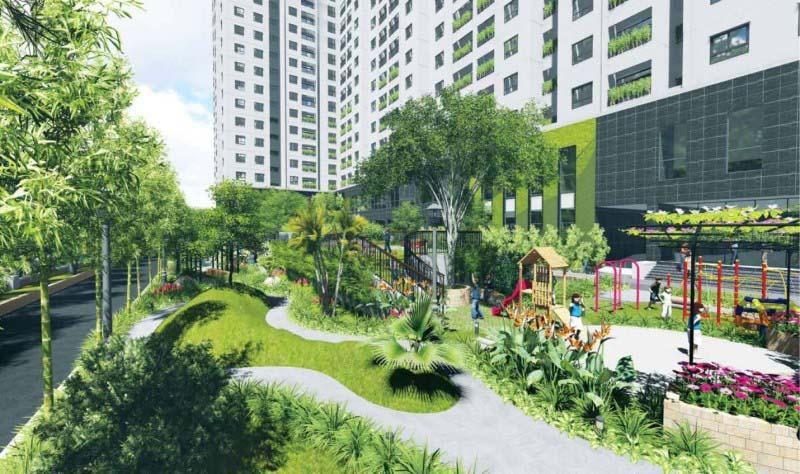 palm garden cong vien xanh