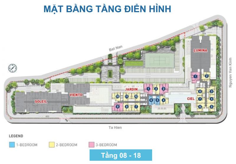 mat bang one verandah