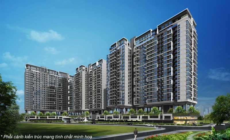 One Verandah căn hộ Thạnh Mỹ Lợi phong cách Singapore