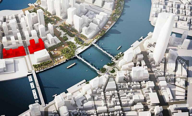Cảnh quan xanh mát – điểm nhấn thiết kế dự án The Metropole