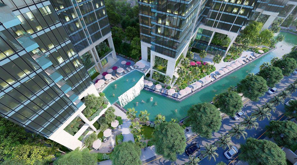 Mật độ xây dựng lý tưởng tại căn hộ Sunshine City Saigon