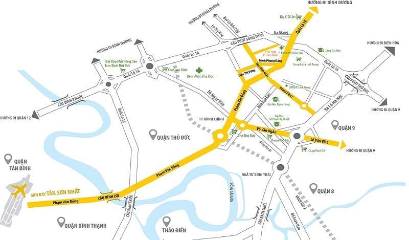Mọi thông tin cần biết về Opal Boulevard Đất Xanh