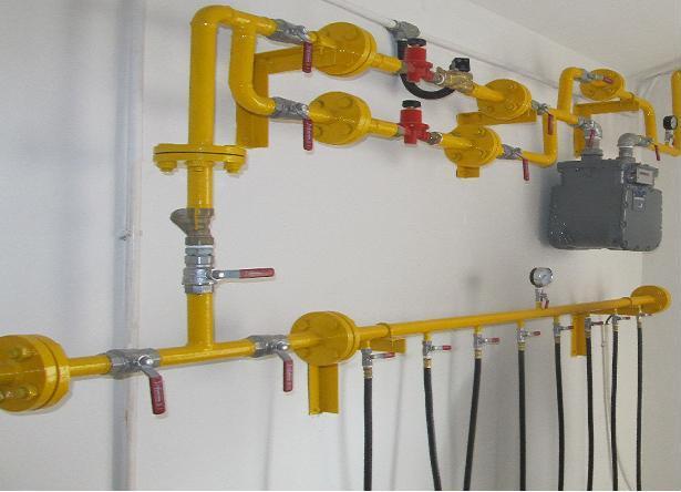 Khi lắp một hệ thống gas công nghiệp cần làm những gì?