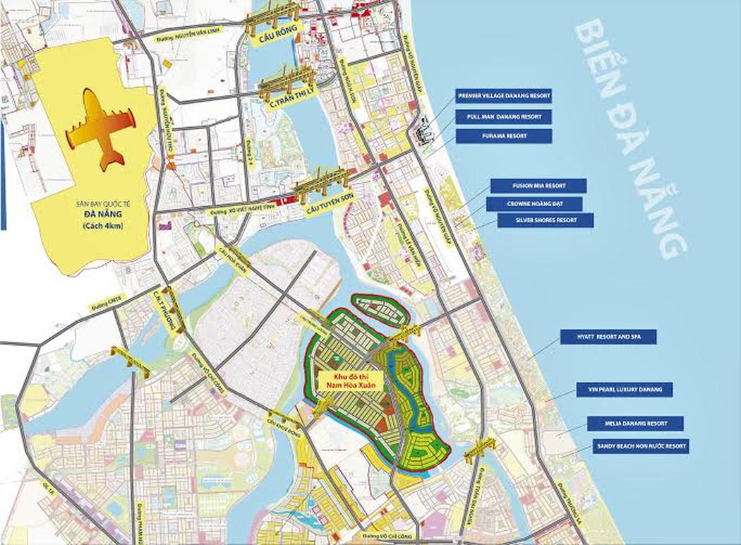 Cuộc sống tại dự án khu đô thị sinh thái Hòa Xuân như thế nào ?