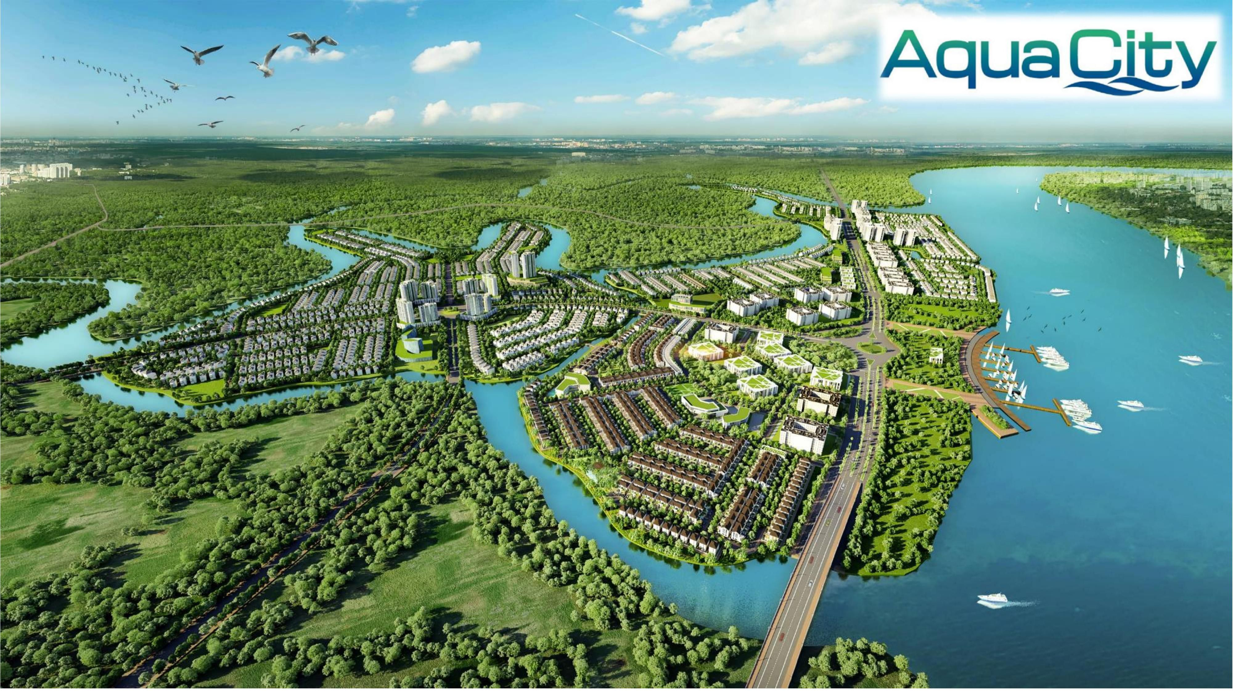 Vị trí dự án Aqua City có tiềm năng gì?