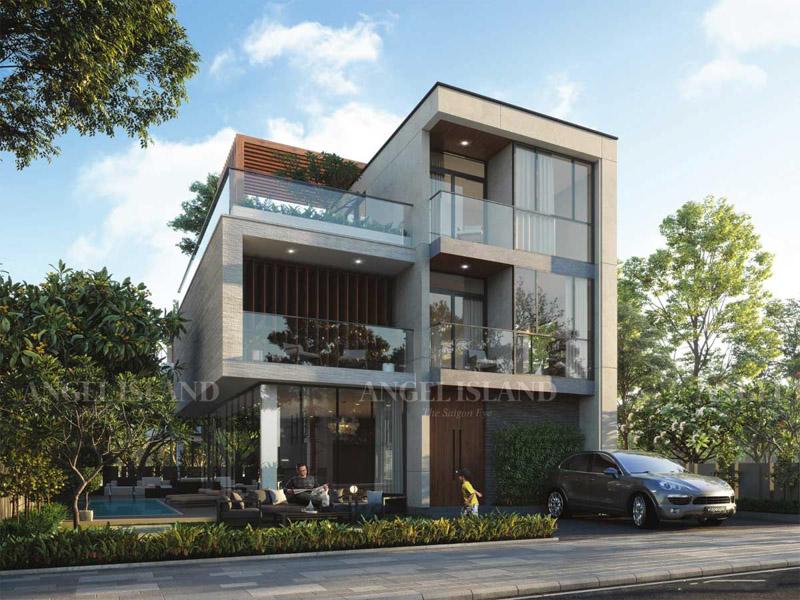 Thiết kế nhà phố biệt thự Angel Island có gì đặc biệt